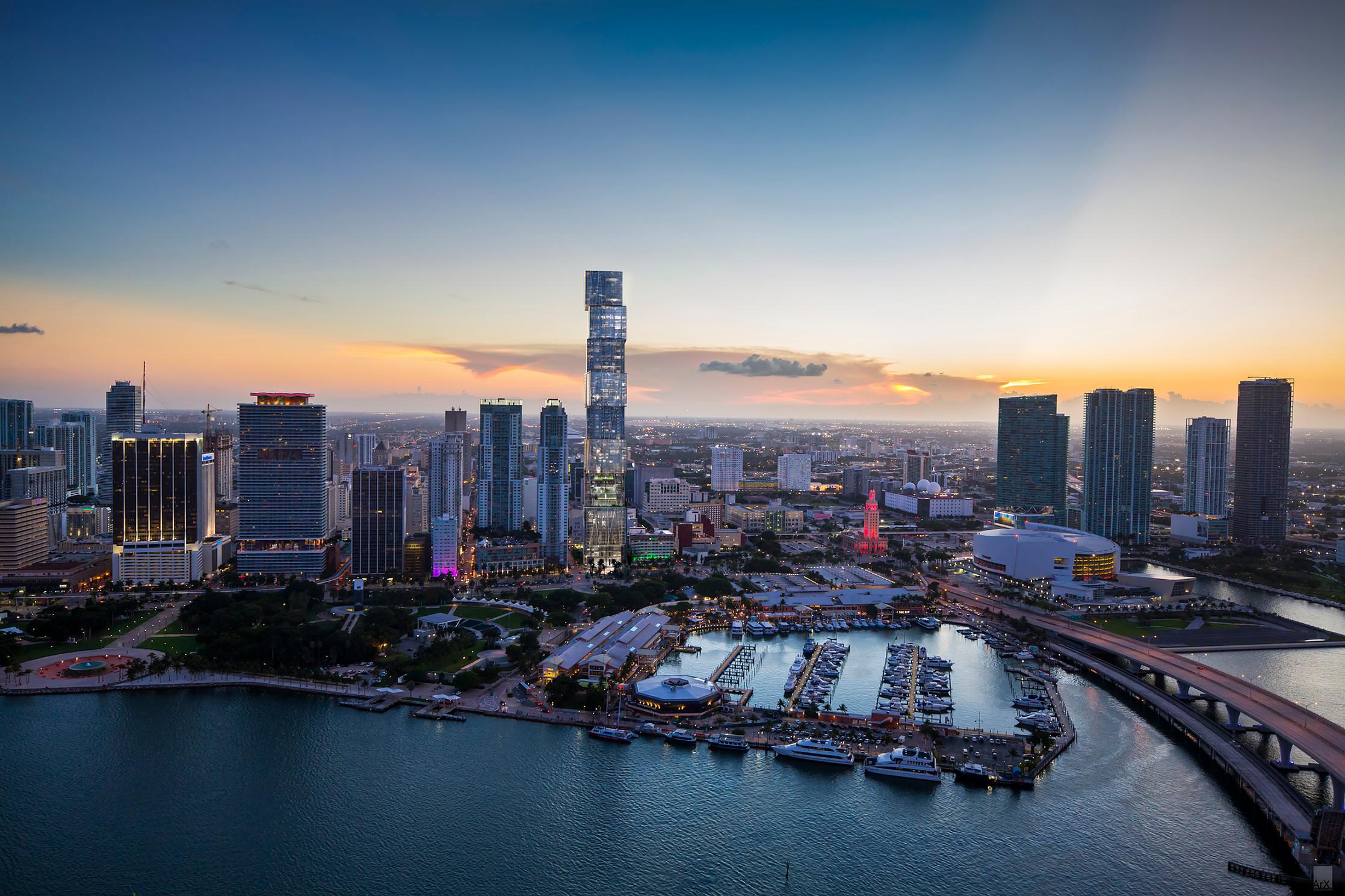 Waldorf Astoria Miami. Rendering courtesy of ArX Solutions USA LLC.