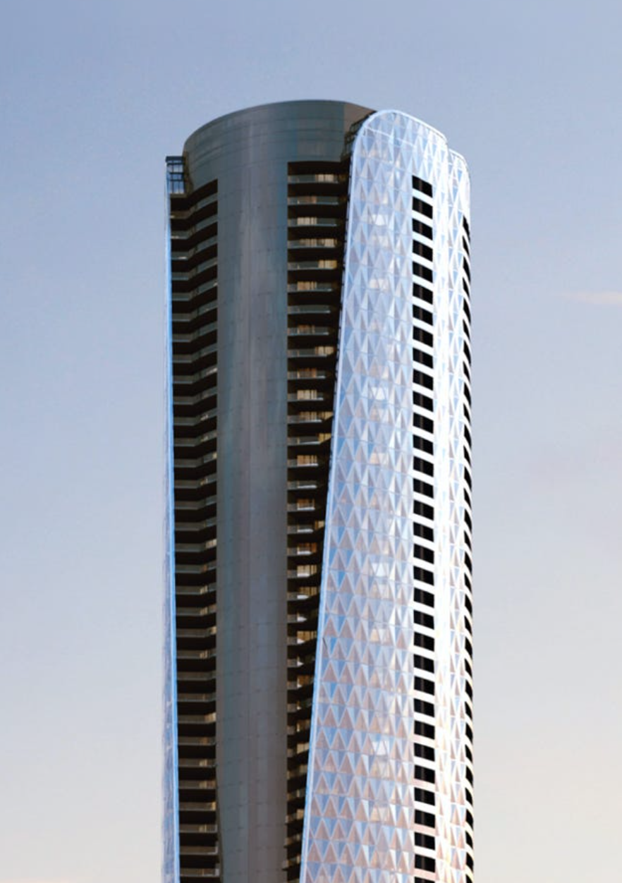 Bentley Residences designed by Sieger Suarez; courtesy of ArX Solutions.