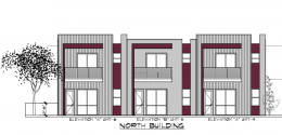 Conceptual rendering of the north building