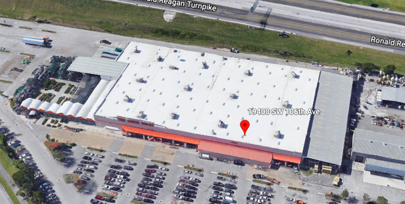 The site of the retailer's future expansion