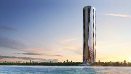 Bentley Residences. Designed by Sieger Suarez; Courtesy of ArX Solutions.