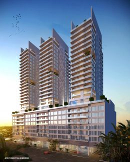 Smart Brickell. Designed by HAC Architects and Urbanists.