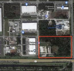 12800 Northwest 13th Street. Courtesy of Google Maps.
