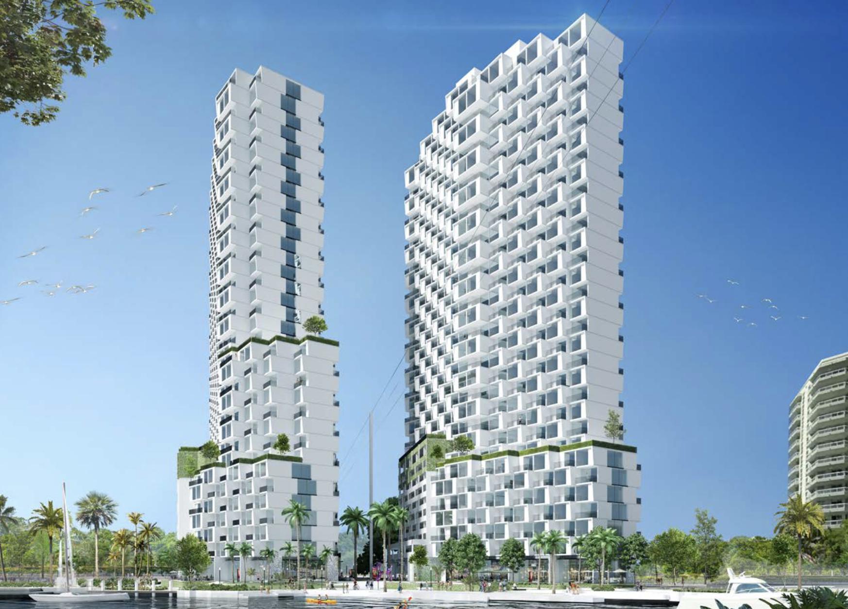 Raintree Riverwalk Residences. Designed by PALMA.