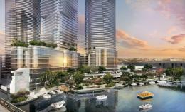 Miami Riverwalk Towers. Designed by Kobi Karp.