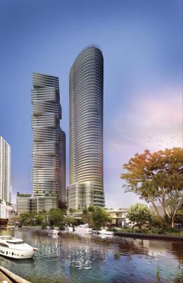 Miami River. Designed by Kobi Karp.