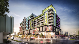 Wynwood Green. Designed by Dorsky + Yue International Architecture.