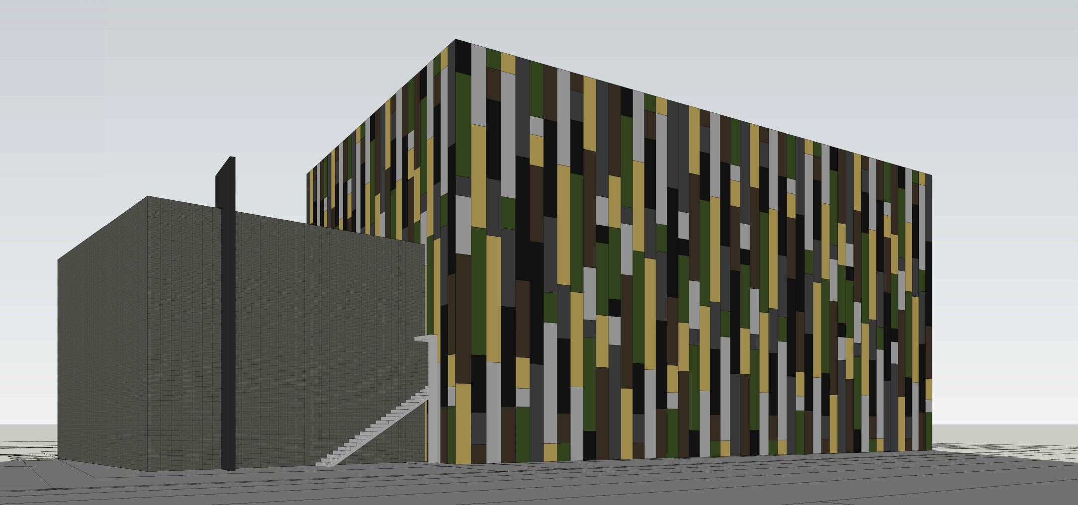 Velocity Rock Gym. Designed by Mateu Architecture.