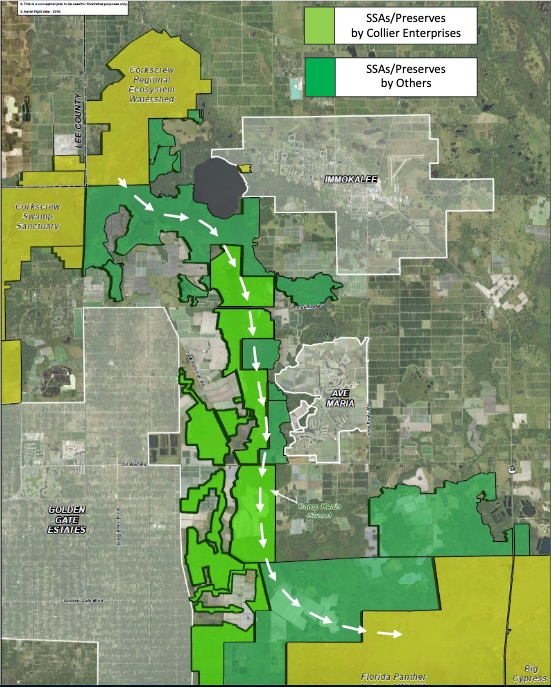 The town will be constructed in a way that maintains Florida's watershed