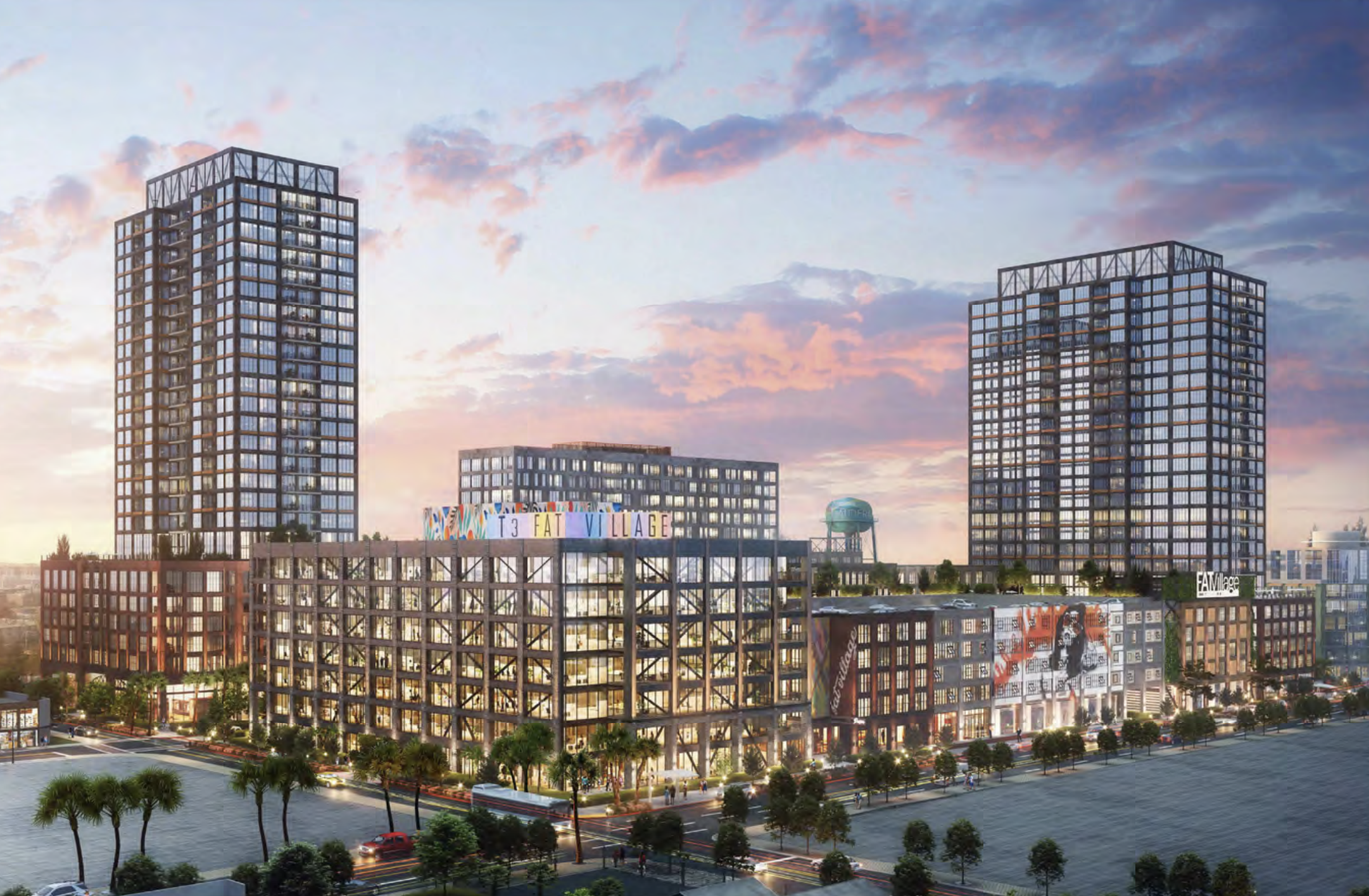 FAT Village East. Designed by SCB & DLR Group.