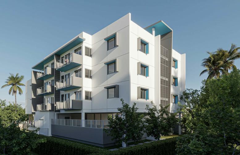 ELEVEN44. Designed by Mateu Architecture.