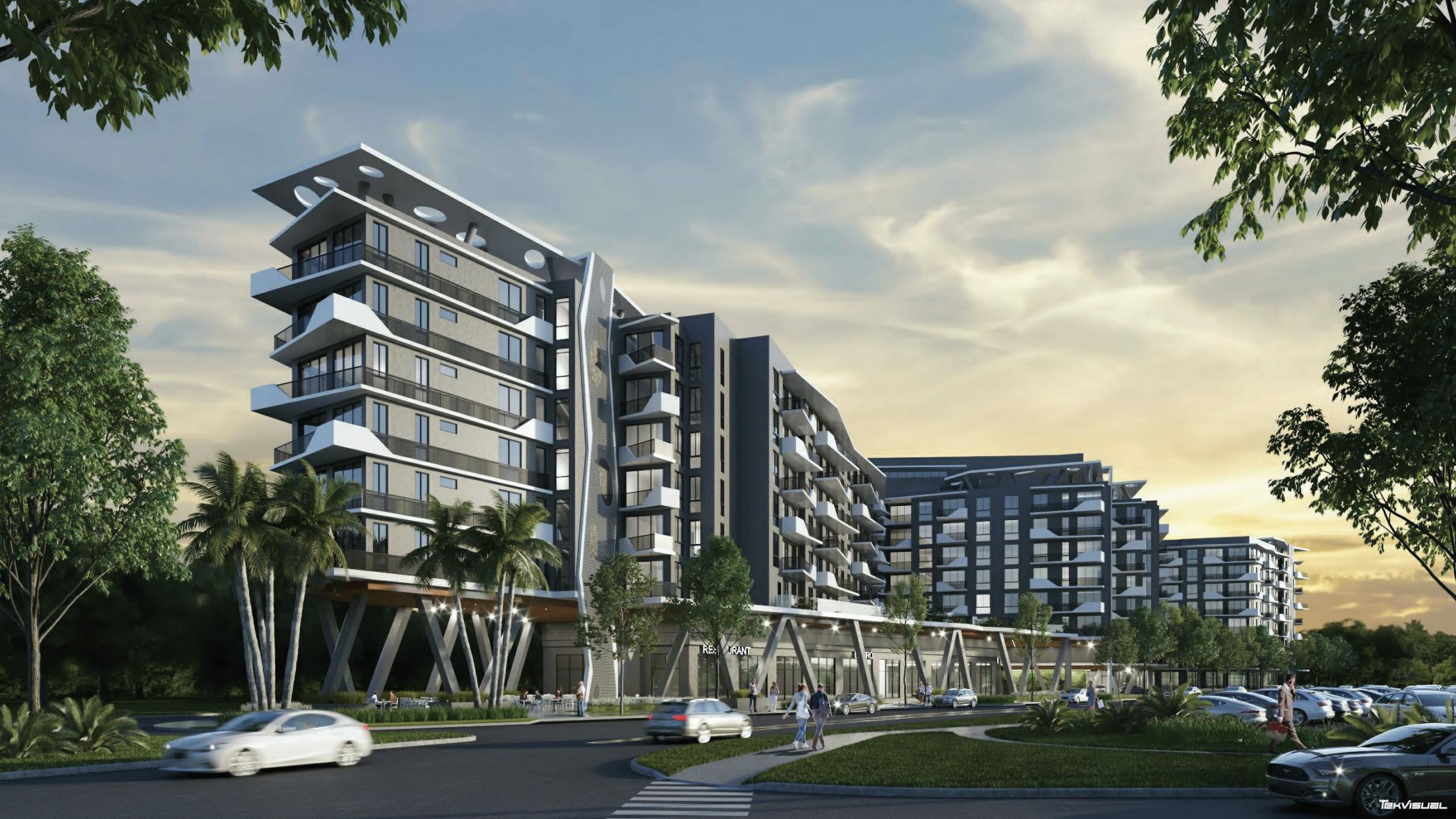Aura North Miami Beach. Designed by Corwil Architects.