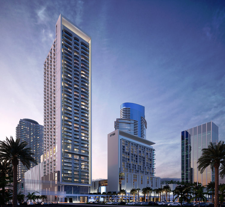 Bezel at Miami Worldcenter. Courtesy of Moinian Group.
