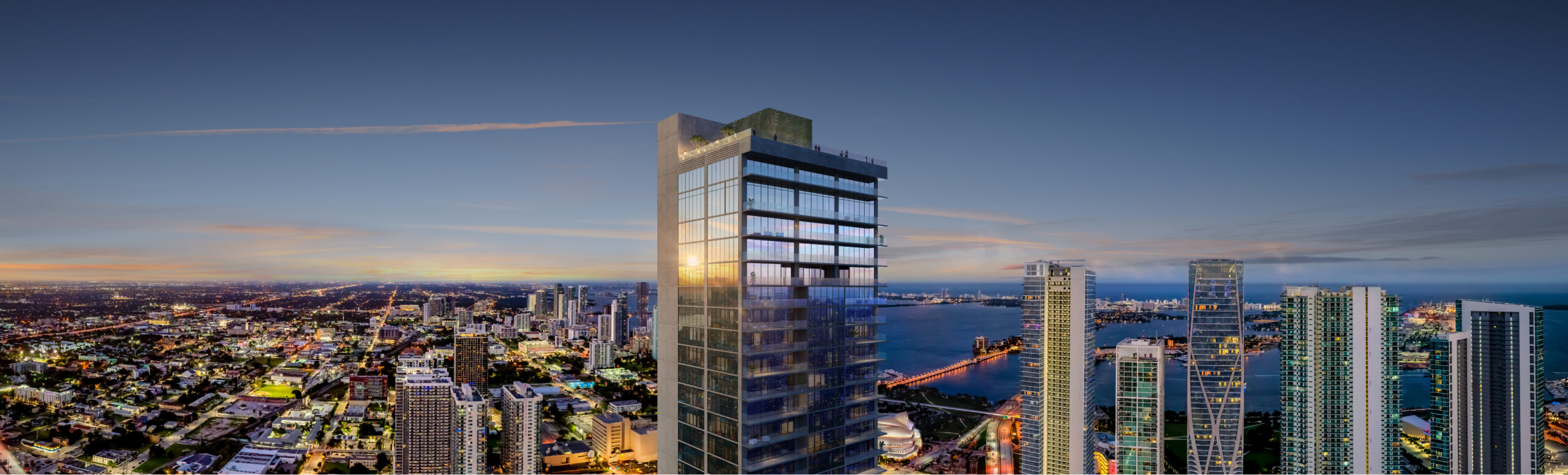 E11EVEN Hotel & Residences. Designed by Sieger Suarez Architects.