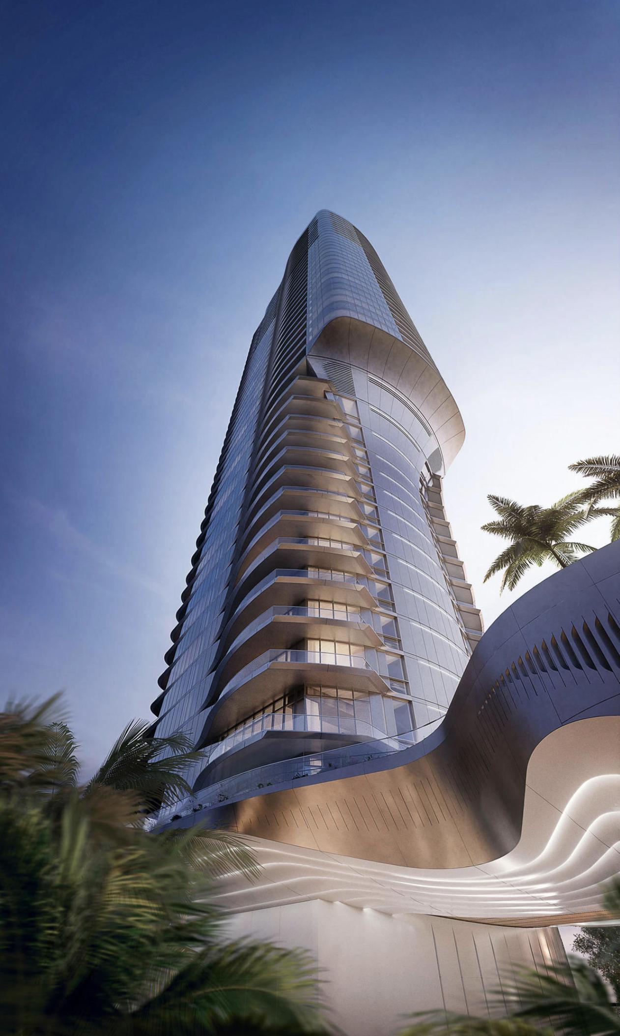 Una Residences. Designed by Adrian Smith + Gordon Gill Architecture.