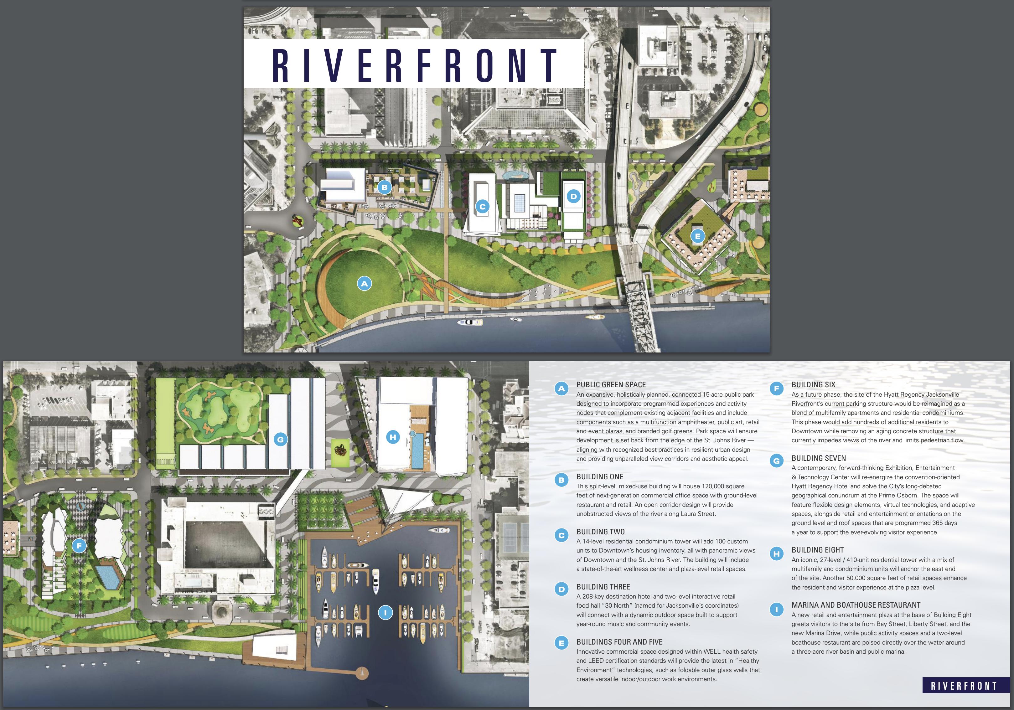 Riverfront Jacksonville. Designed by Gensler.