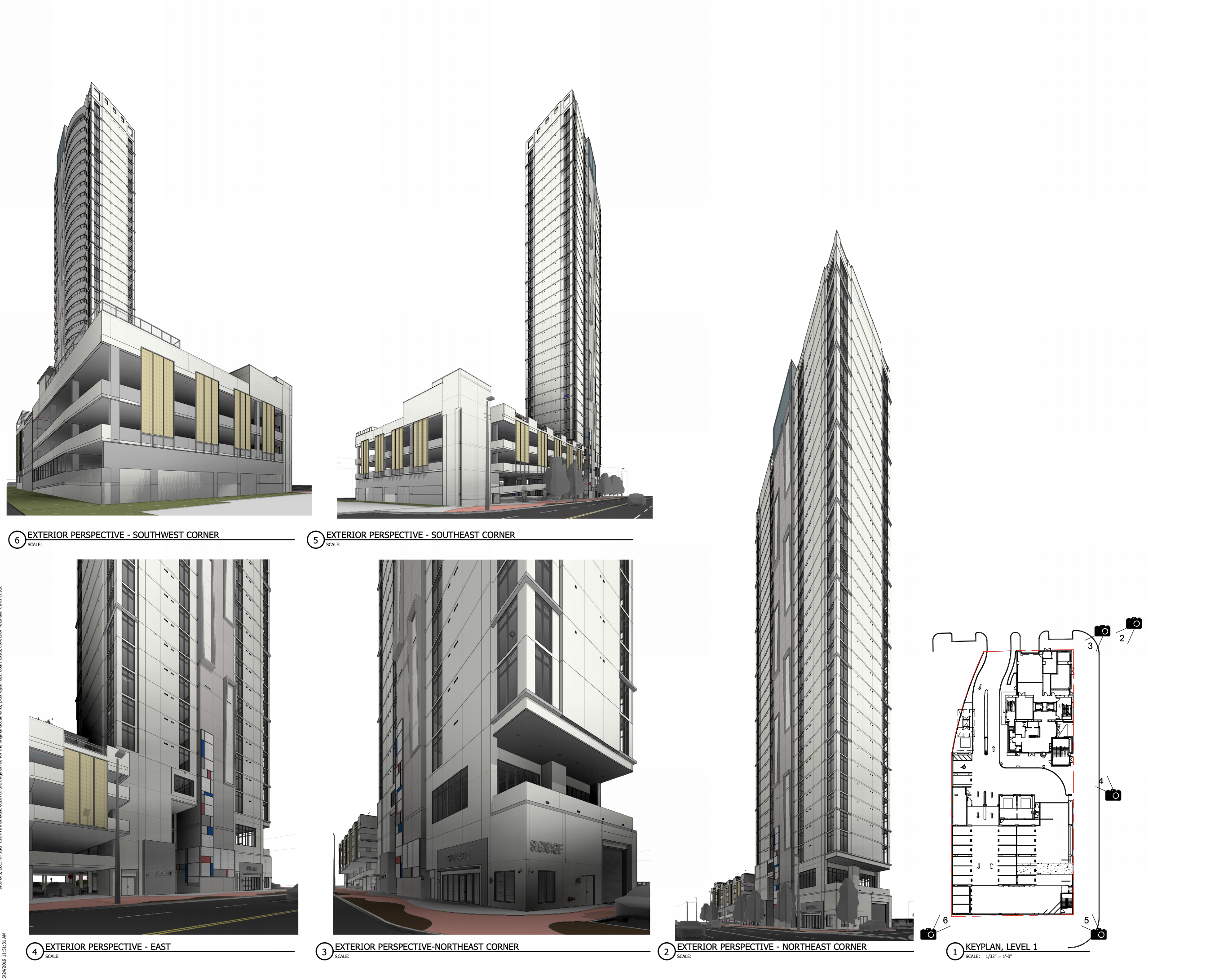 The 35 Story Elevé 61 Condo Tower Awaiting To Rise At 858 Channelside Drive In Tampa Florida Yimby