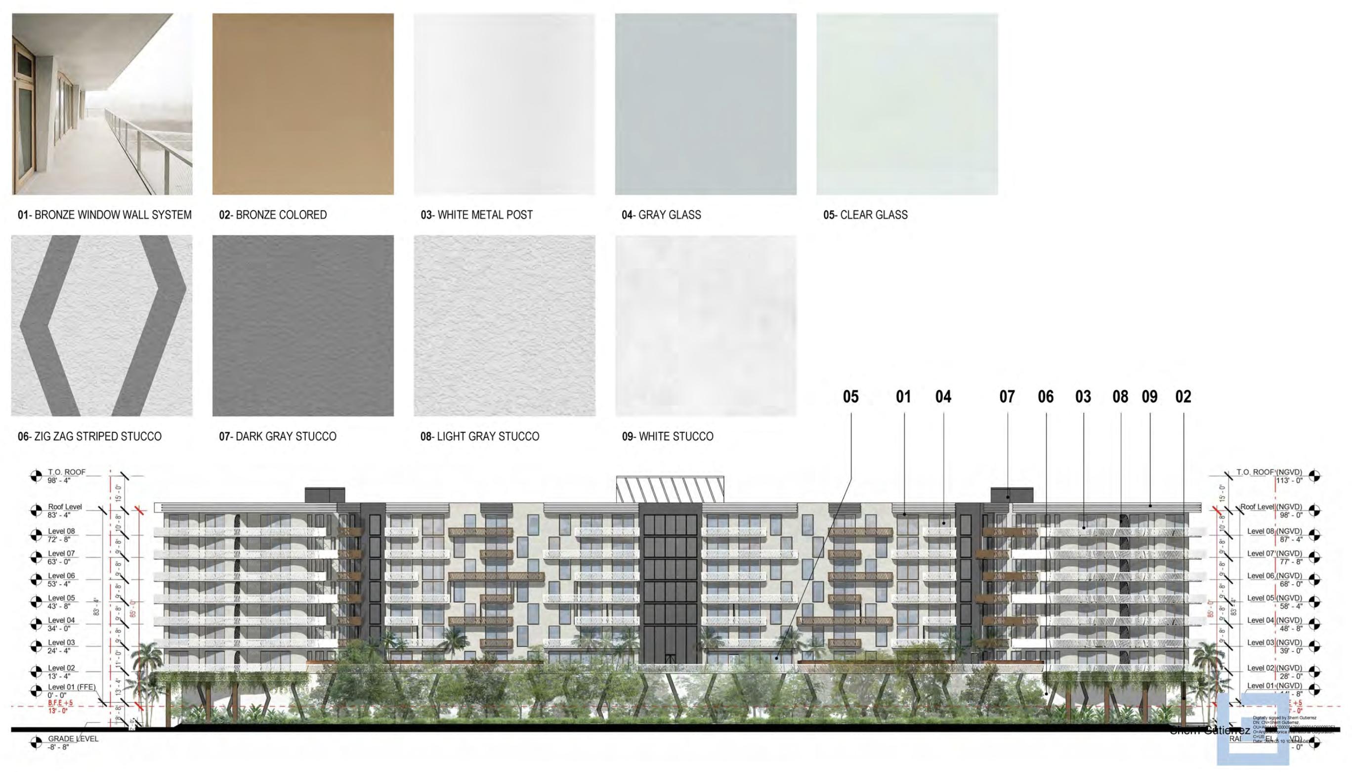 3900 Alton Road. Designed by Arquitectonica.