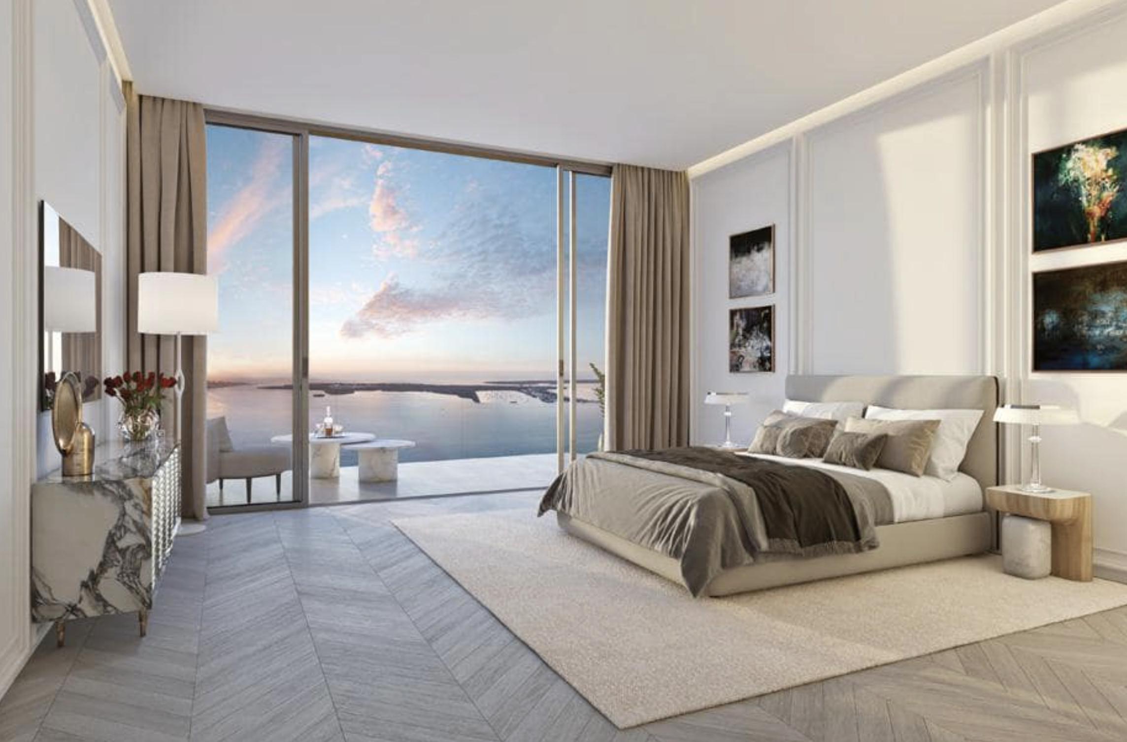 Bedroom. Designed by Meyers Davis Studio.