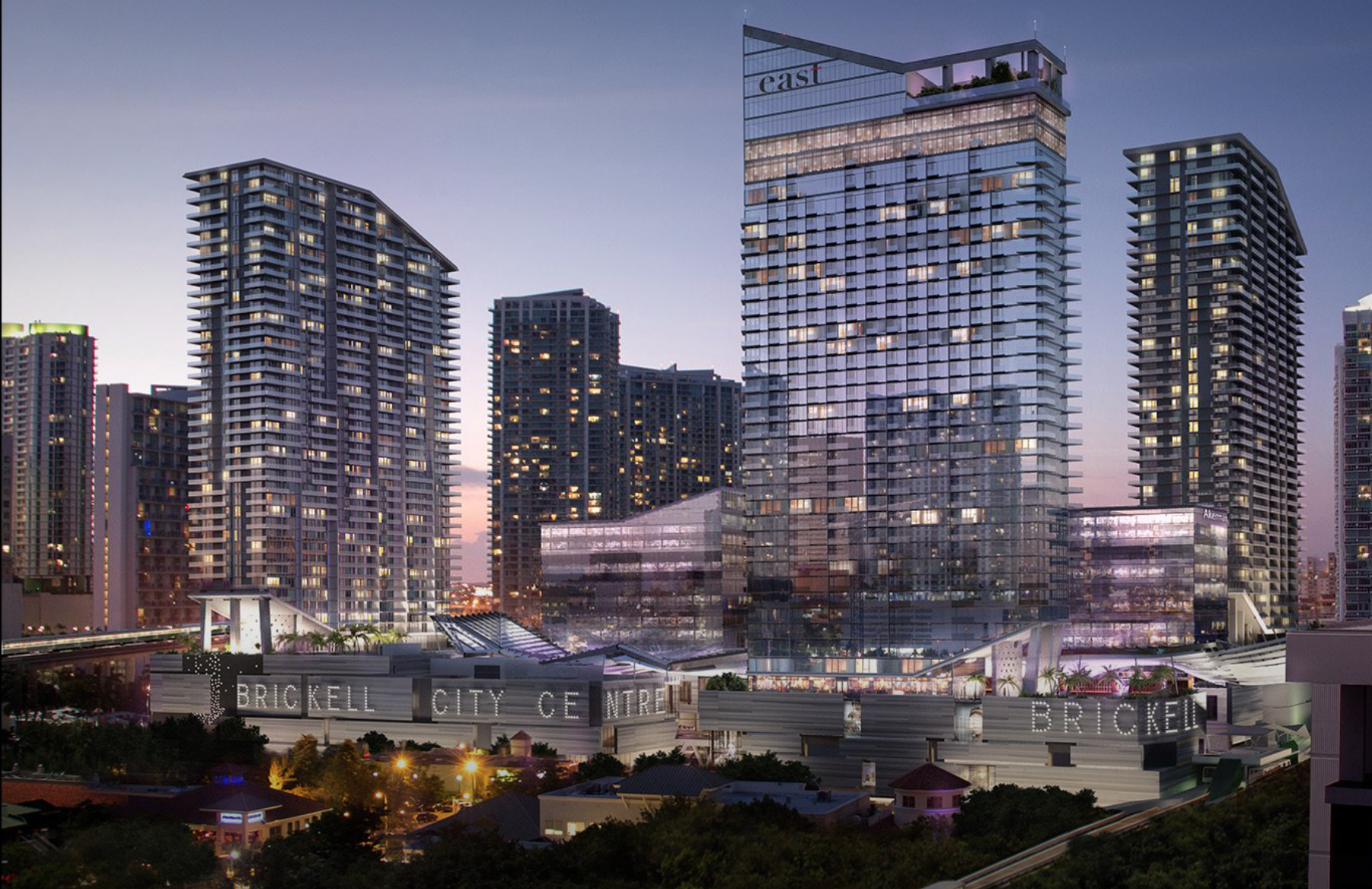 Brickell City Centre. Designed by Arquitectonica.