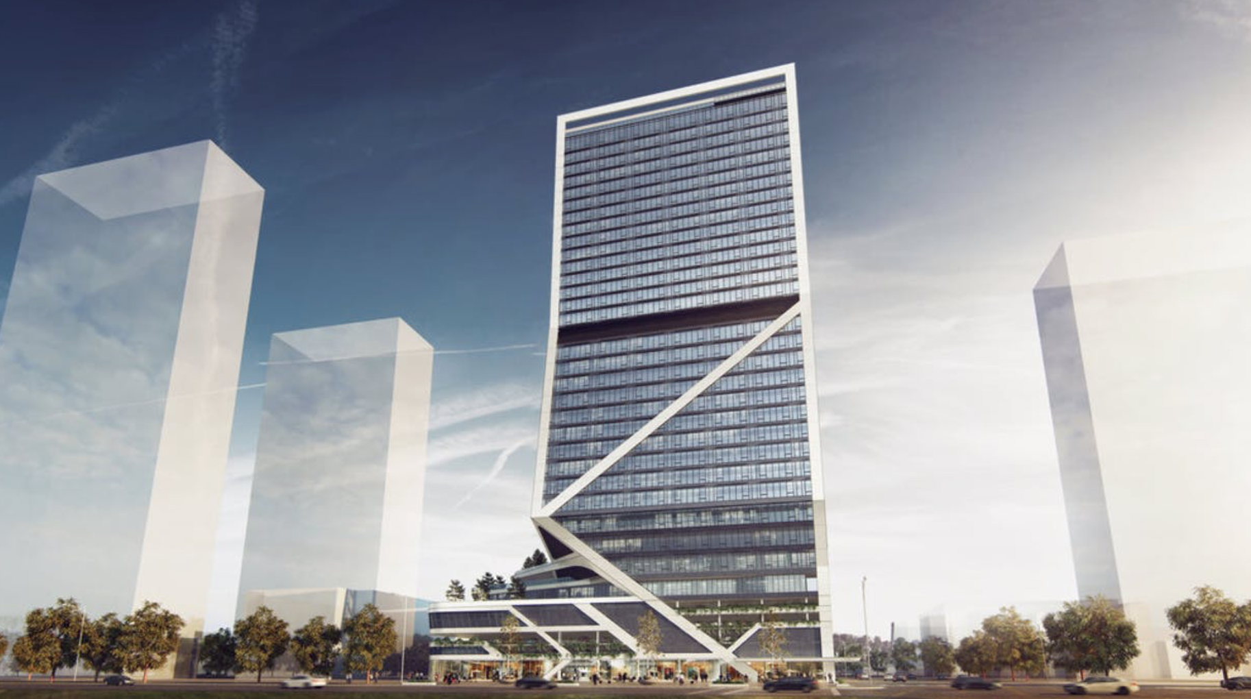 New Rendering of Miami Station. Designed by ODP Architecture & Design.
