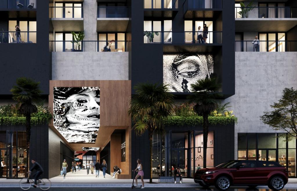 Society Wynwood. Designed by Sieger Suarez Architects.