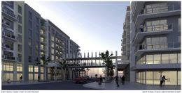West Aventura Town Center - East Block Phase II. Designed by ATL Architecture.