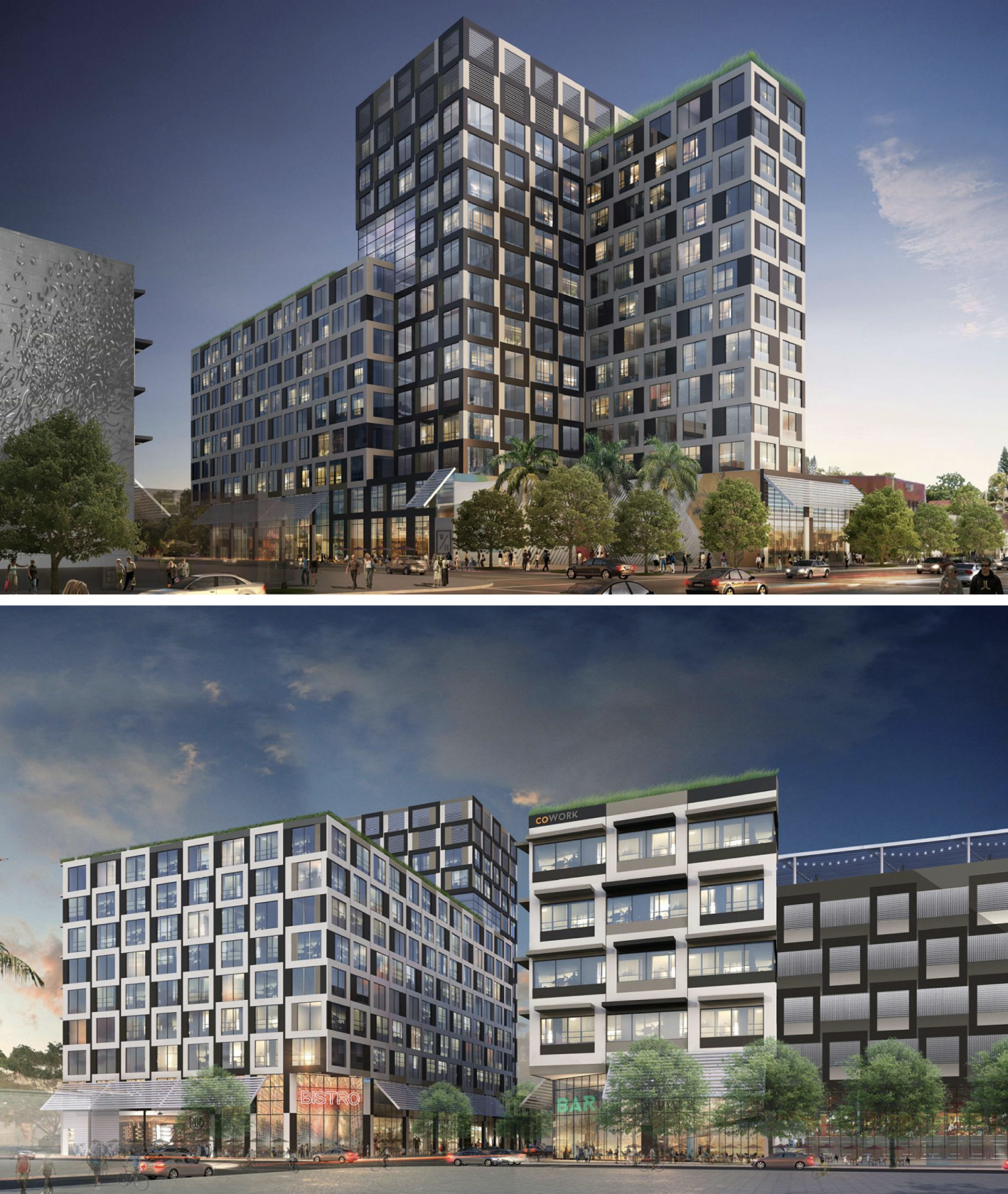 Previous Renderings. Designed by Arquitectonica.