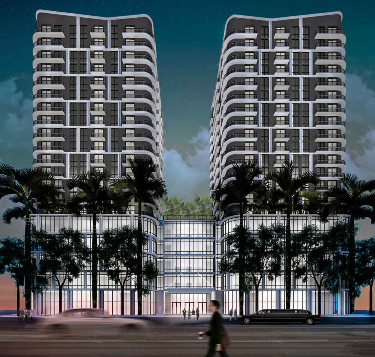 Merrick Towers. Designed by Atelier305.