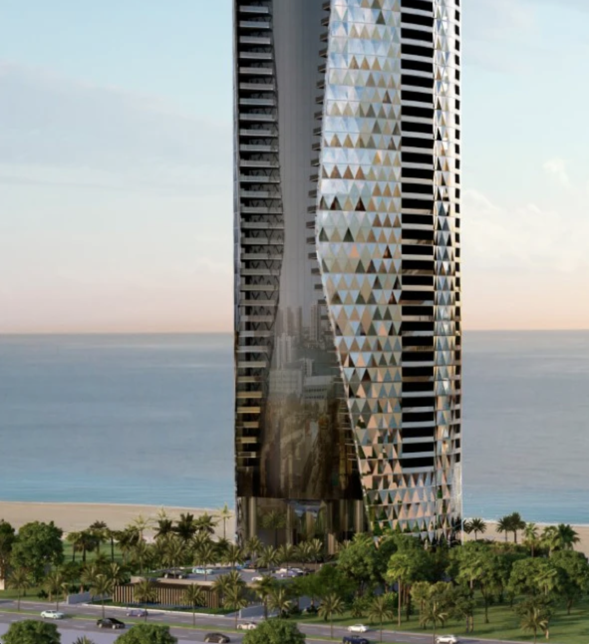 Bentley Residences. Designed by Sieger Suarez Architects. Courtesy of ArX Solutions USA LLC.