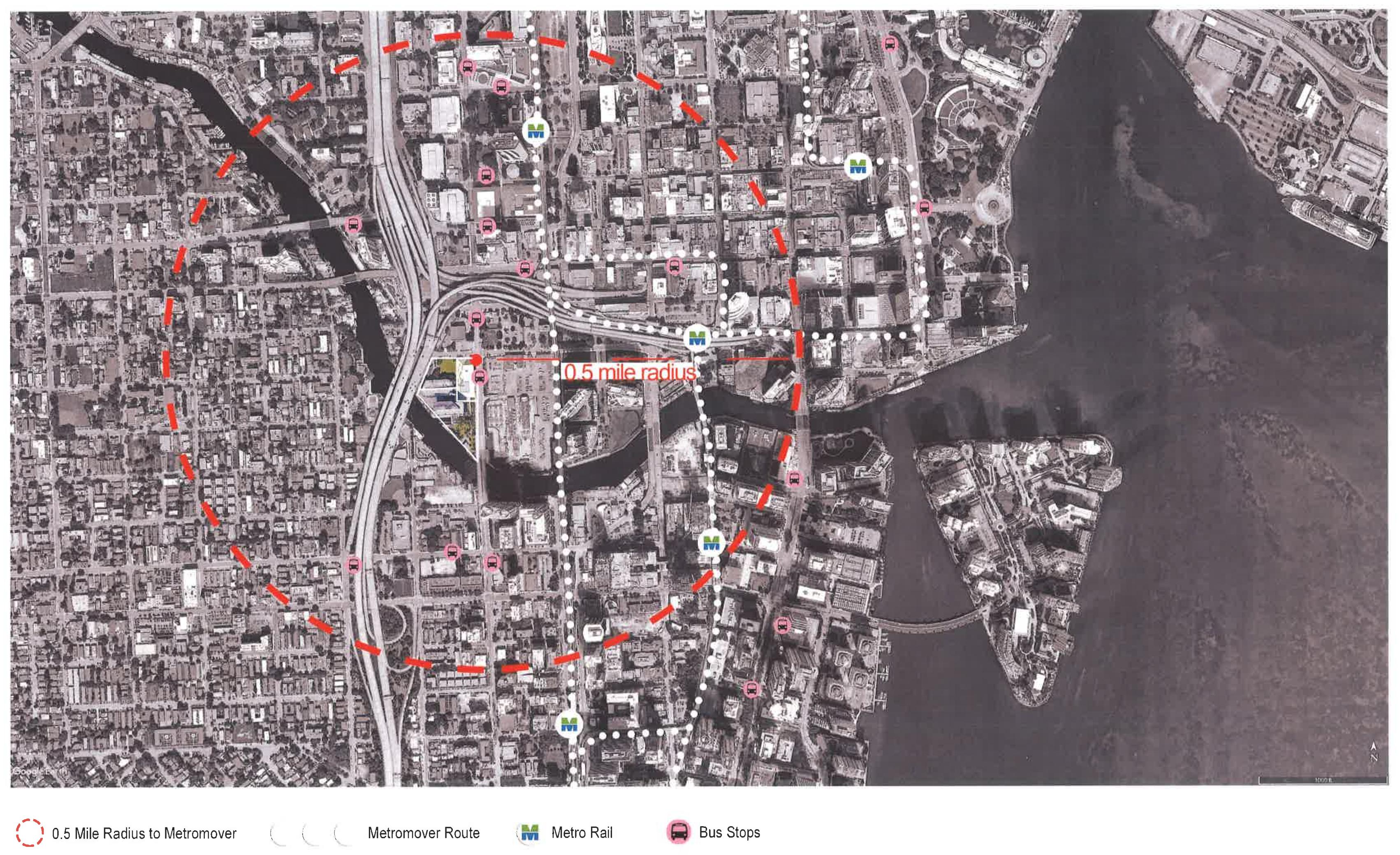 Proximity to Public Transportation. Courtesy of NBWW Architects.