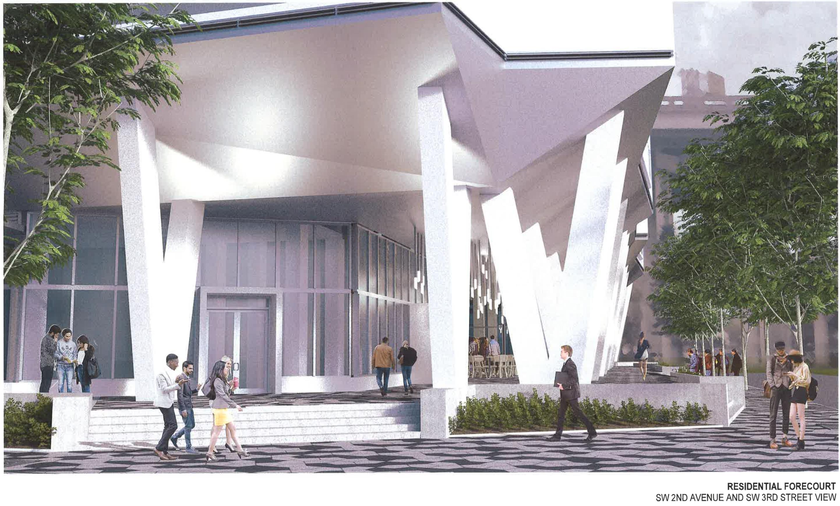 Nexus Riverside. Designed by NBWW Architects.