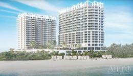 Amrit Ocean Resort Residences. Designed by S & E Architects.
