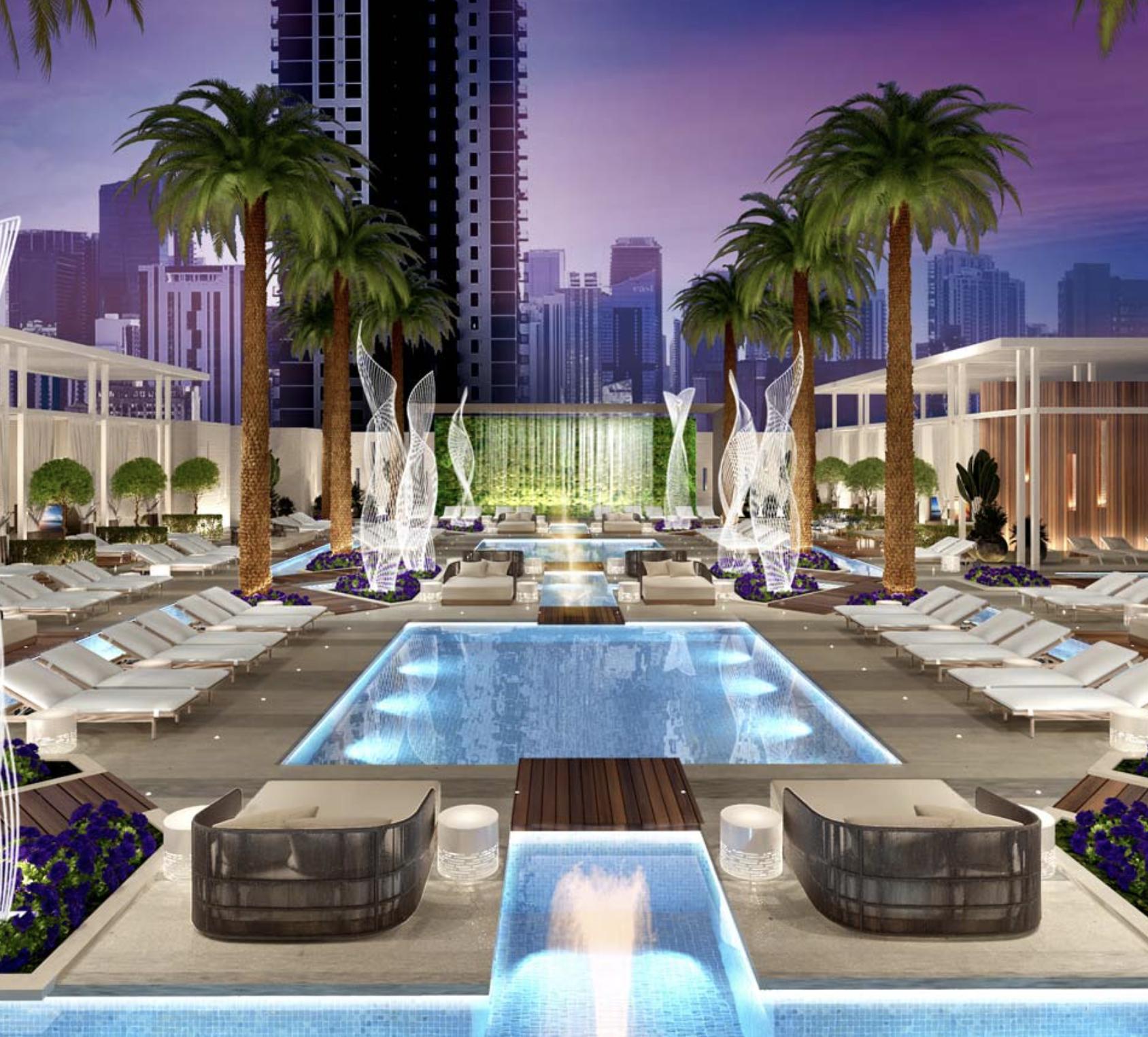 Legacy Miami Worldcenter. Designed by Kobi Karp.