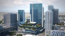 Marriot Marquis Miami Worldcenter. Designed by NBWW Architects.