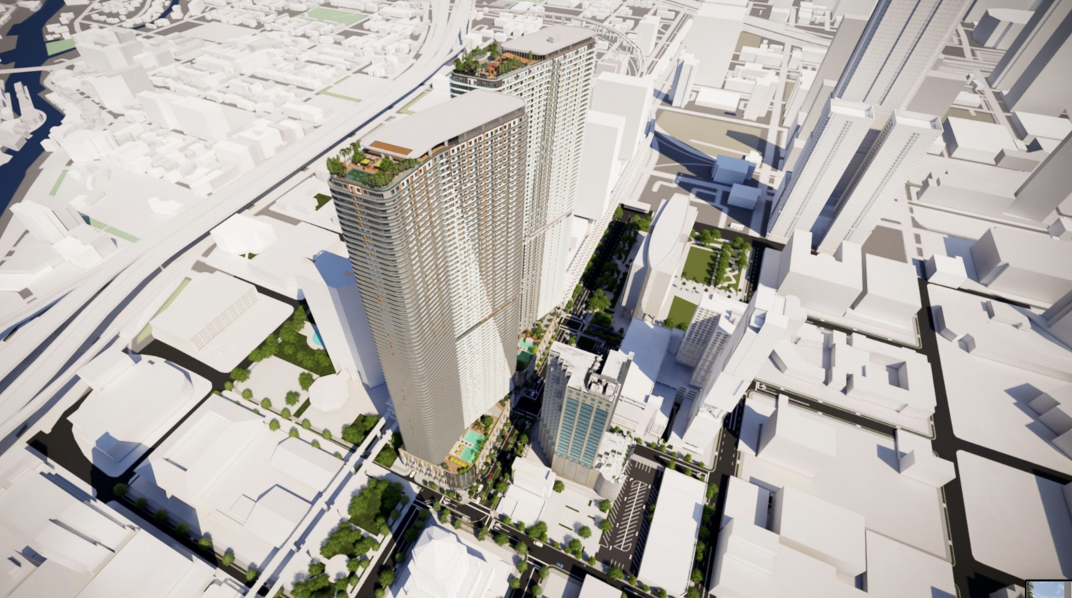 One MiamiCentral. Designed by Zyscovich Architects.