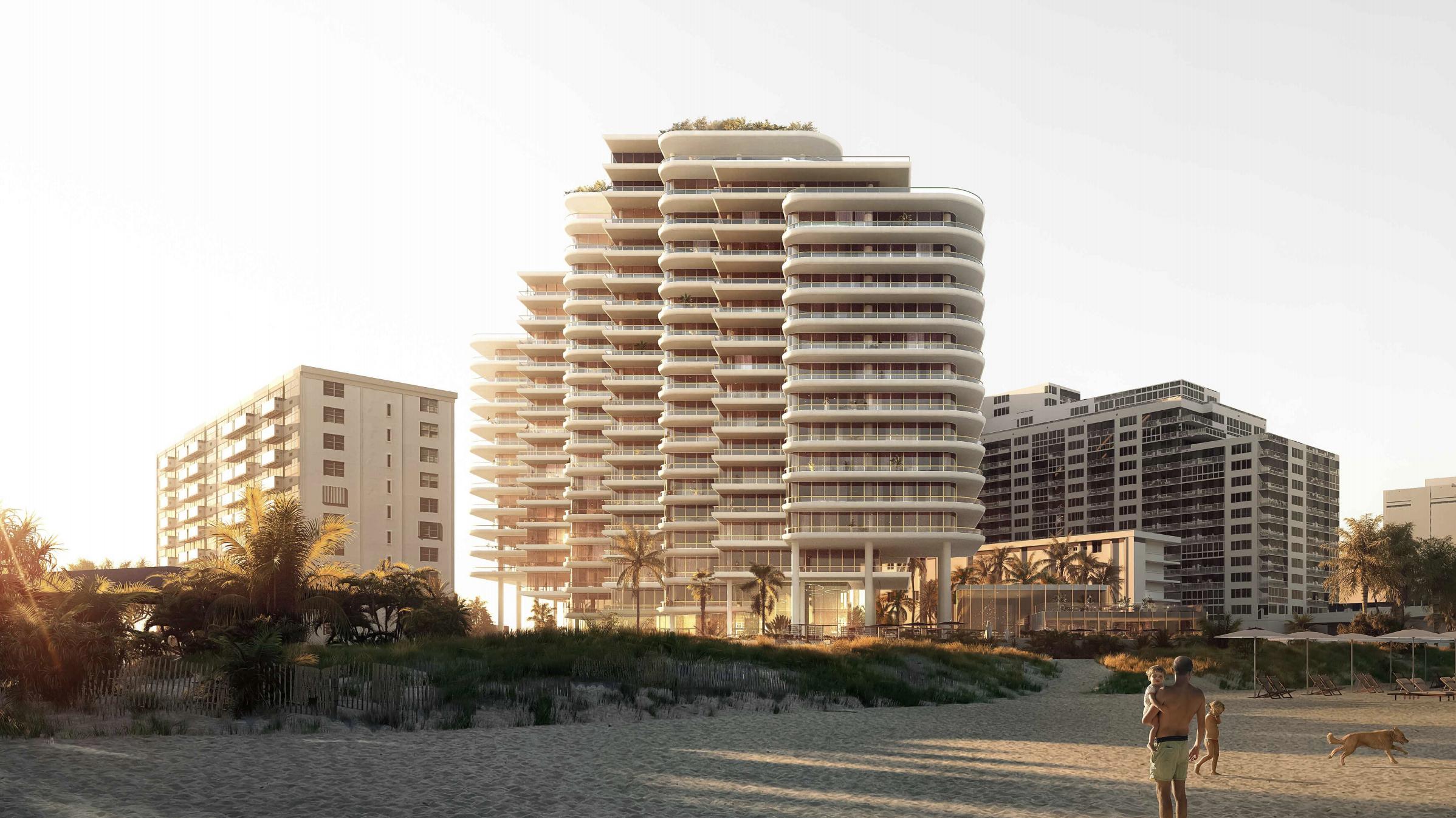 Beach View. 5333 Collins Avenue. Courtesy of ODP Architecture & Design.