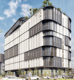 Treo Soma Station Student Housing. Designed by Modis Architects.