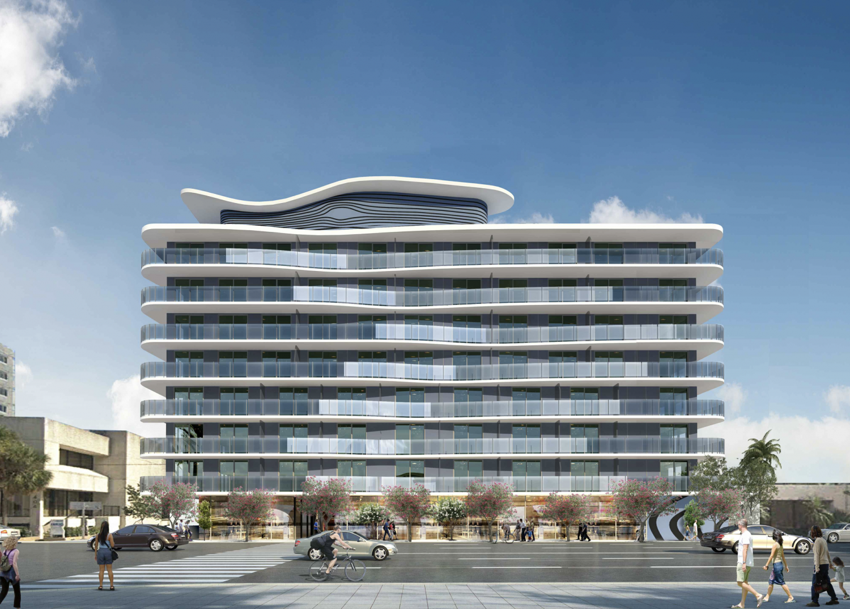 400 East Atlantic Boulevard. Designed by Arquitectonica.