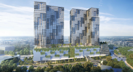 Link at Douglas - Phase 2. Designed by Arquitectonica.