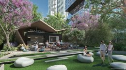 Green Space, Tea House. Rendering Courtesy of ArX Solutions USA LLC.