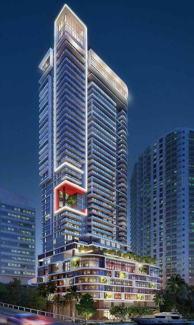 Riverwalk Residences. Designed by Borges + Associates Architects.