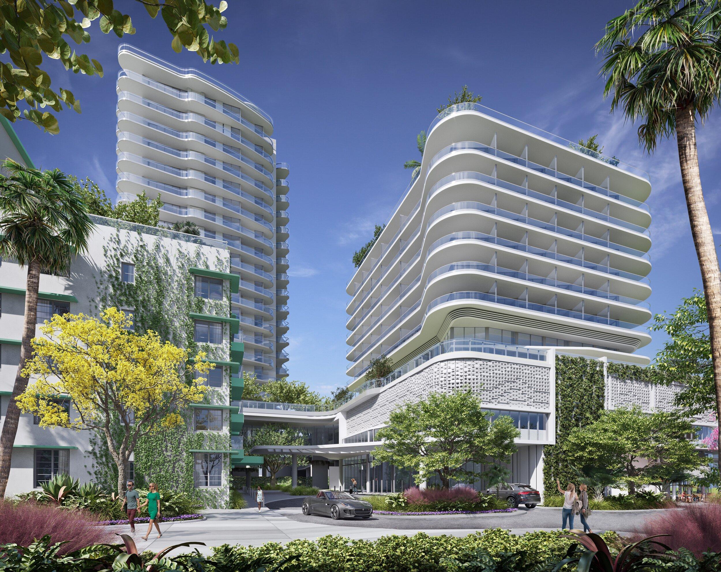 Ocean Terrace. Designed by Revuelta Architecture International.