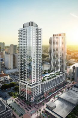 Miami Worldcenter Block G. Courtesy of CFE & Associates Architects.
