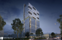Church Street Phase 2 Tower. Designed by Baker Barrios.