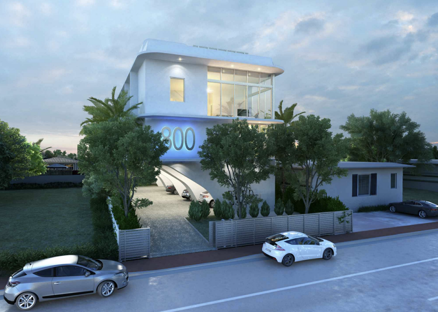 800 84th Street. Courtesy of CDS Architecture and Planning.