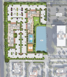 Site Location. Courtesy of Trammell Crow Residential.