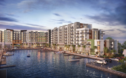 Harborside at Hidden Habour. Designed by MSA Architects.
